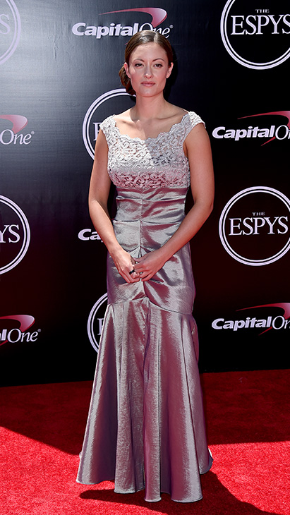 "<div class=""meta image-caption""><div class=""origin-logo origin-image ap""><span>AP</span></div><span class=""caption-text"">Elizabeth Marks, paralympic swimmer and sergeant in the United States military, arrives at the ESPY Awards at the Microsoft Theater on Wednesday, July 13, 2016, in Los Angeles. (Jordan Strauss/Invision/AP)</span></div>"