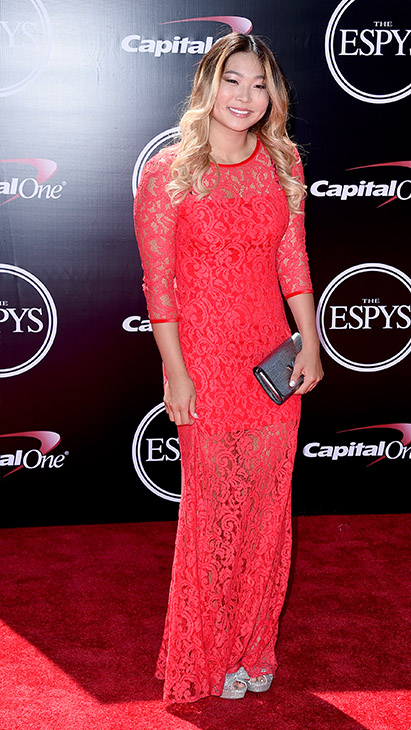 "<div class=""meta image-caption""><div class=""origin-logo origin-image ap""><span>AP</span></div><span class=""caption-text"">Snowboarder Chloe Kim arrives at the ESPY Awards at the Microsoft Theater on Wednesday, July 13, 2016, in Los Angeles. (Jordan Strauss/Invision/AP)</span></div>"