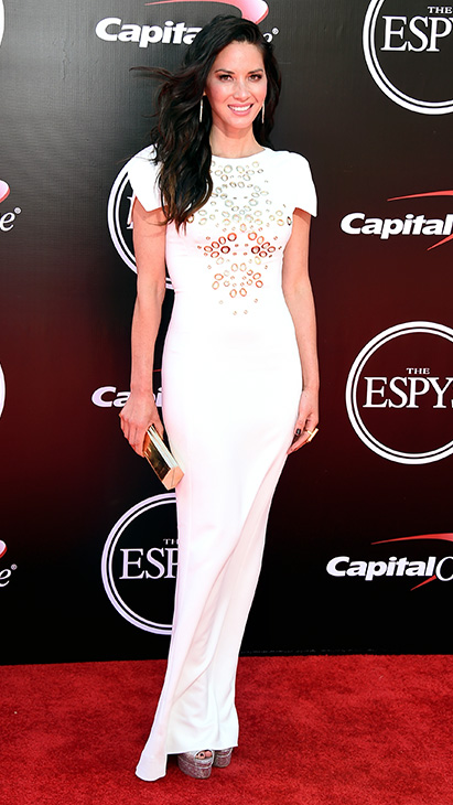 "<div class=""meta image-caption""><div class=""origin-logo origin-image ap""><span>AP</span></div><span class=""caption-text"">Olivia Munn arrives at the ESPY Awards at the Microsoft Theater on Wednesday, July 13, 2016, in Los Angeles. (Jordan Strauss/Invision/AP)</span></div>"