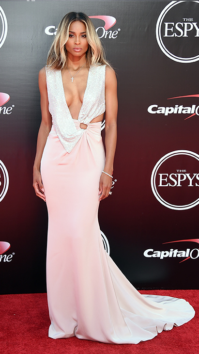 "<div class=""meta image-caption""><div class=""origin-logo origin-image ap""><span>AP</span></div><span class=""caption-text"">Ciara arrives at the ESPY Awards at the Microsoft Theater on Wednesday, July 13, 2016, in Los Angeles. (Jordan Strauss/Invision/AP)</span></div>"