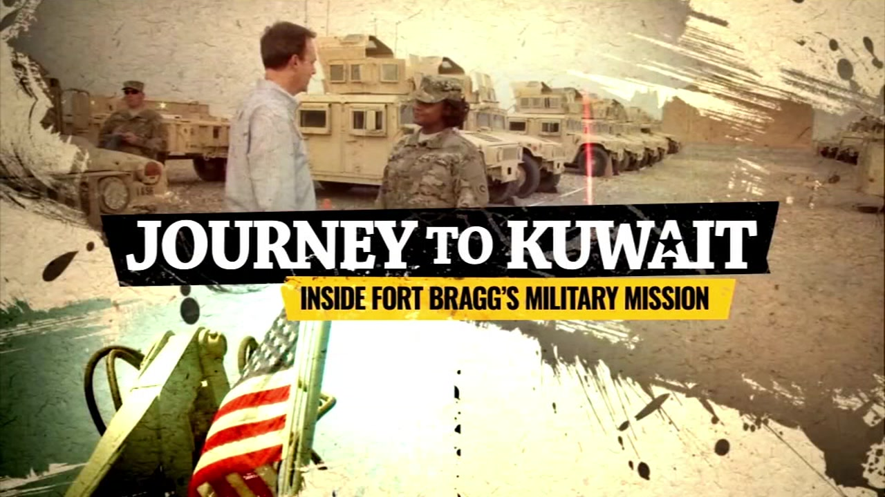 journey to kuwait inside fort bragg s military mission