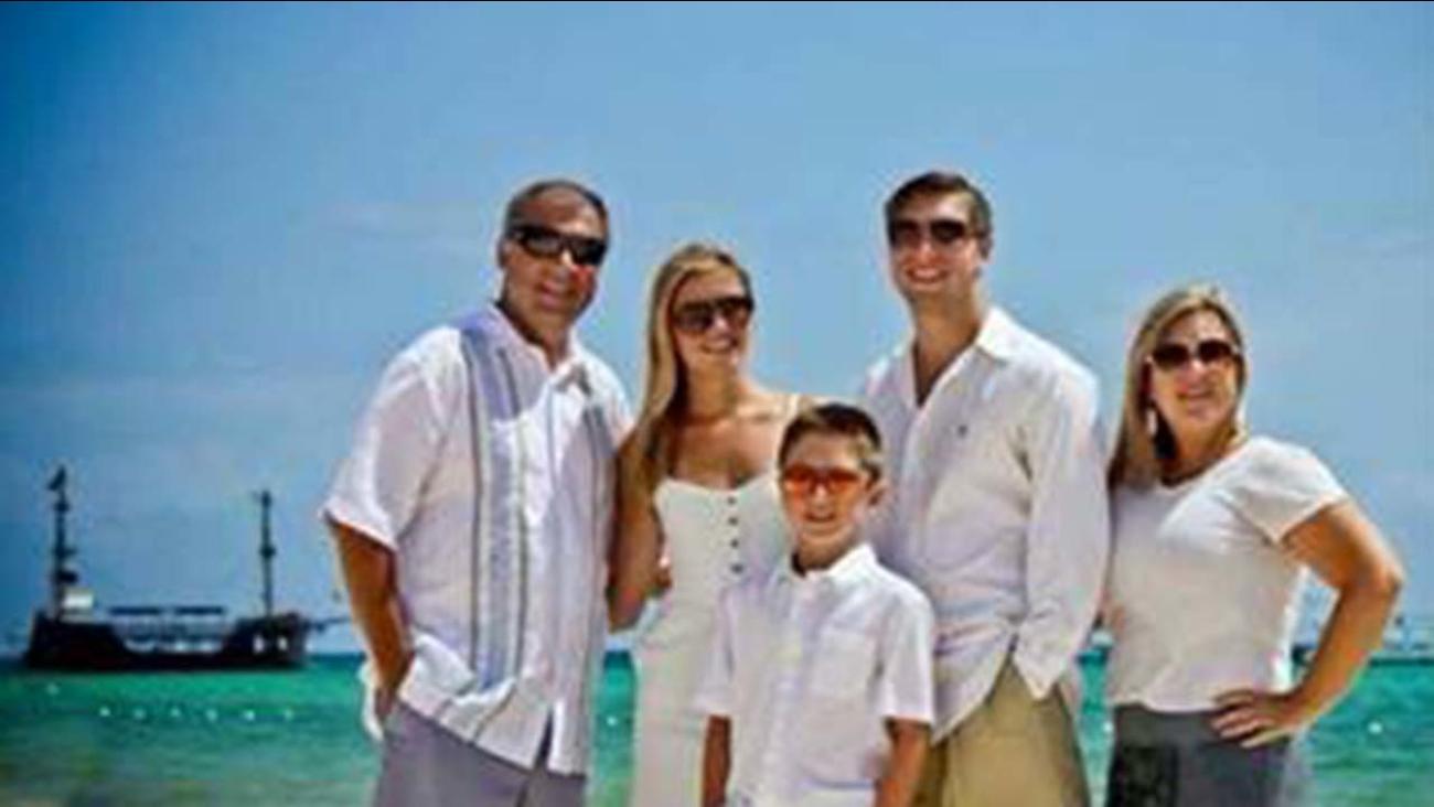 From left, Sean Copeland, Maegan Copeland, Brodie Copeland, Austin Copeland, and Kim Copeland