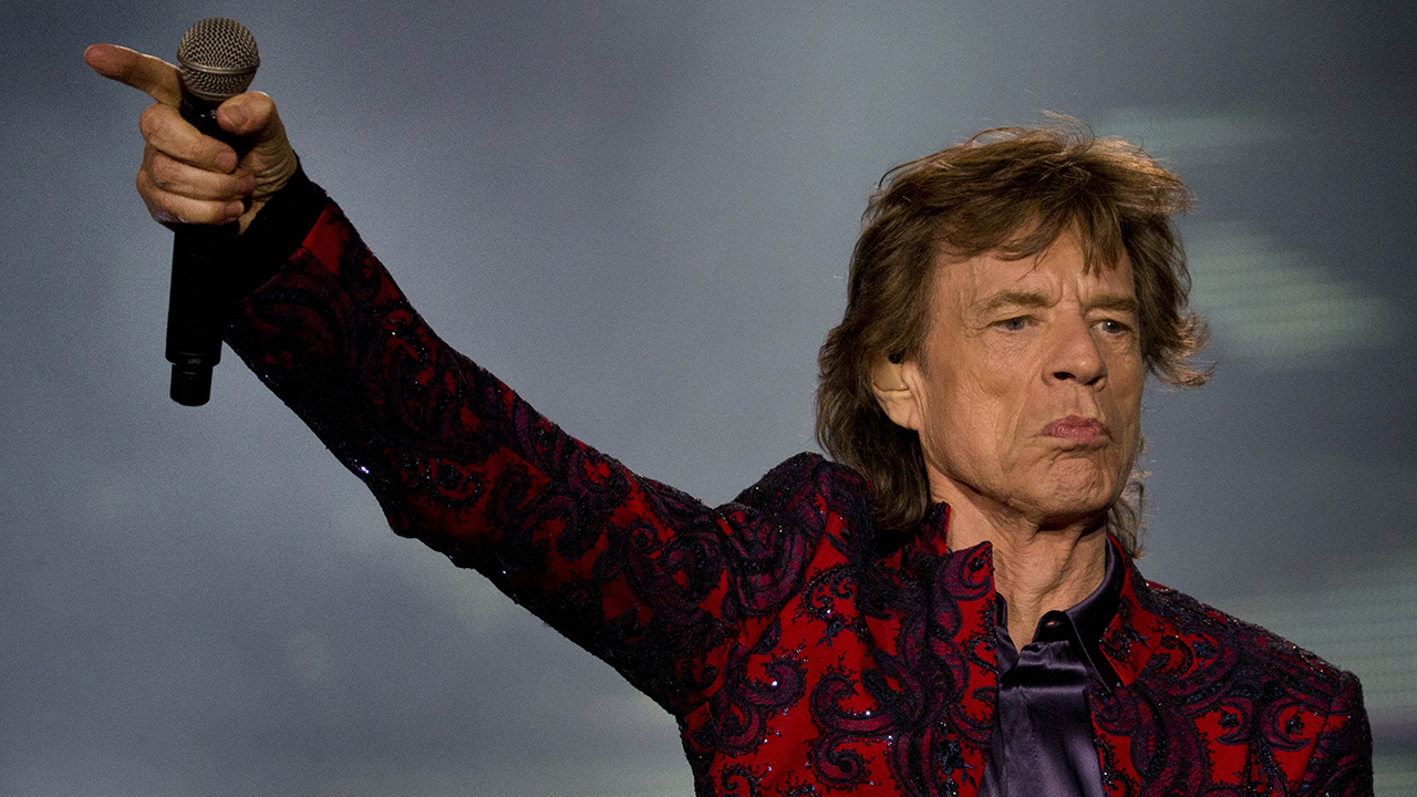 Mick Jagger performs during the Rolling Stones' Ole Tour at Foro Sol in Mexico City, Monday, March 14, 2016.