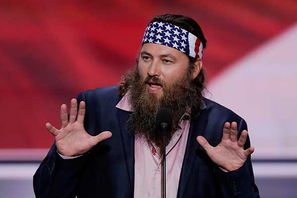 "<div class=""meta image-caption""><div class=""origin-logo origin-image none""><span>none</span></div><span class=""caption-text"">Willie Robertson, CEO of Duck Commander and Buck Commander speaks during the opening day of the Republican National Convention in Cleveland, on Monday. (J. Scott Applewhite/AP Photo)</span></div>"