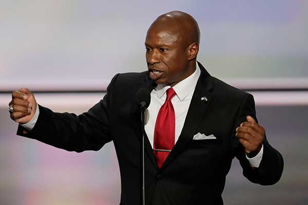 "<div class=""meta image-caption""><div class=""origin-logo origin-image none""><span>none</span></div><span class=""caption-text"">Darryl Glenn, Republican candidate for U.S. Senate from Colorado, speaks during the opening day of the Republican National Convention in Cleveland, Monday, July 18, (J. Scott Applewhite/AP Photo)</span></div>"
