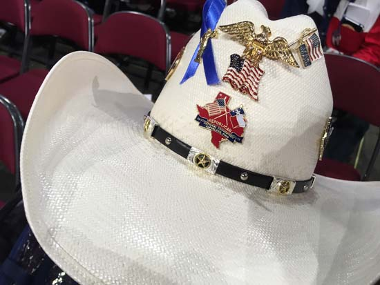 "<div class=""meta image-caption""><div class=""origin-logo origin-image ktrk""><span>KTRK</span></div><span class=""caption-text"">Buttons, pins, elephant jewelry and bedazzled cowboy hats are some of the fashion items on display</span></div>"