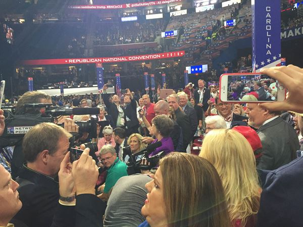 """<div class=""""meta image-caption""""><div class=""""origin-logo origin-image wtvd""""><span>WTVD</span></div><span class=""""caption-text"""">Photos from day 2 of the Republican National Convention in Cleveland</span></div>"""