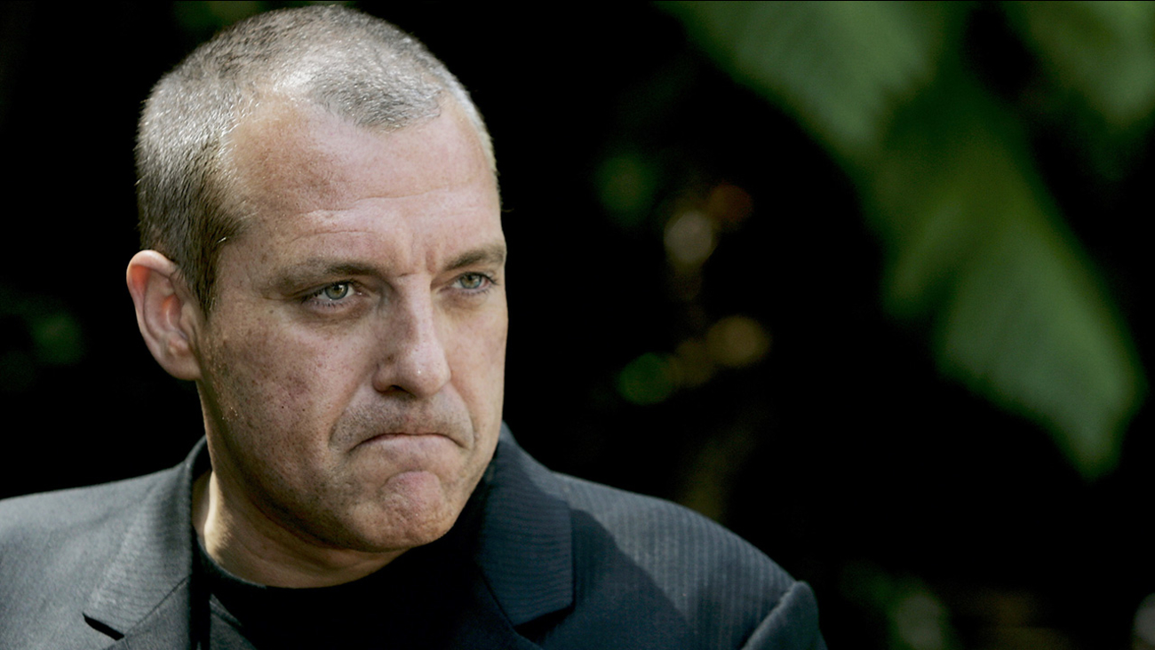 Actor Tom Sizemore ponders a question during a news conference in Beverly Hills, Calif., Friday, June 3, 2005.