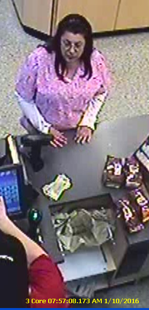 """<div class=""""meta image-caption""""><div class=""""origin-logo origin-image wpvi""""><span>WPVI</span></div><span class=""""caption-text"""">A woman is accused of stealing thousands of dollars' worth of bagged coffee from area Wawa stores and returning them to different locations for cash. (West Goshen Township Police)</span></div>"""