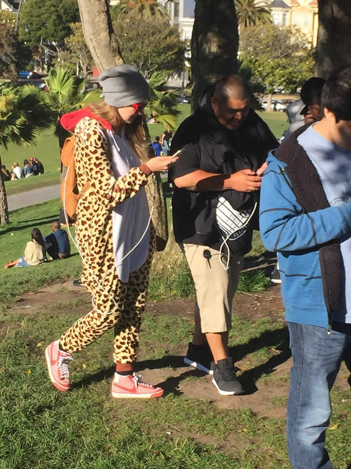 """<div class=""""meta image-caption""""><div class=""""origin-logo origin-image none""""><span>none</span></div><span class=""""caption-text"""">Pokemon Go players walk around Dolores Park in San Francisco ahead of an event on Wednesday, July 20, 2016. (Katie Marzullo/KGO-TV)</span></div>"""