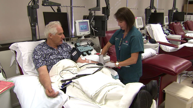 Man donates blood to Cedars-Sinai twice a month for last 17 years