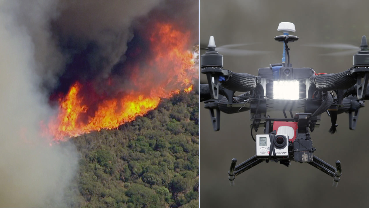 Authorities said drones have interfered with aircraft trying to battle the massive Sand Fire in Santa Clarita.