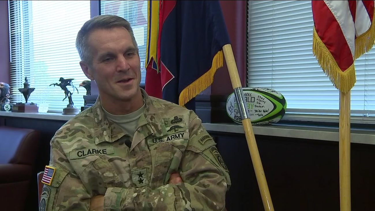 Major General Richard Clark sits down for an interview with ABC11.