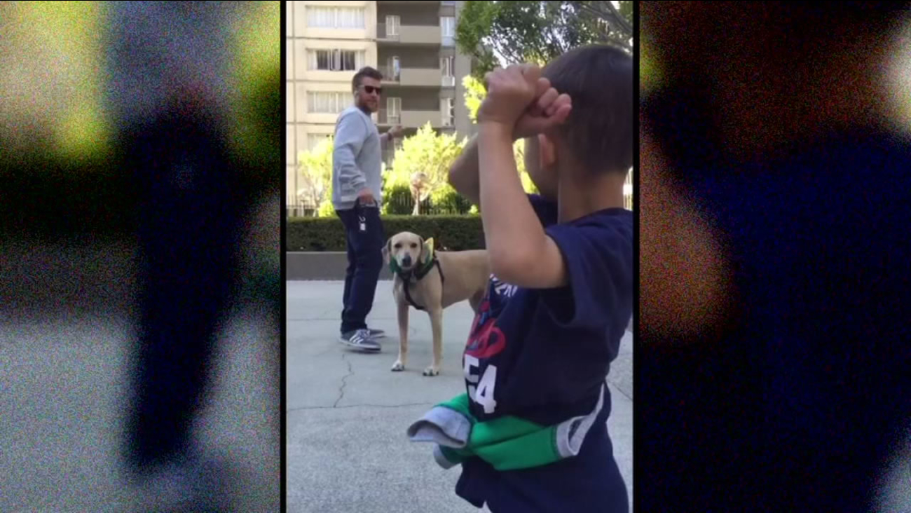 This image shows Oakland A's pitcher Sean Doolittle playing with a young boy in park.