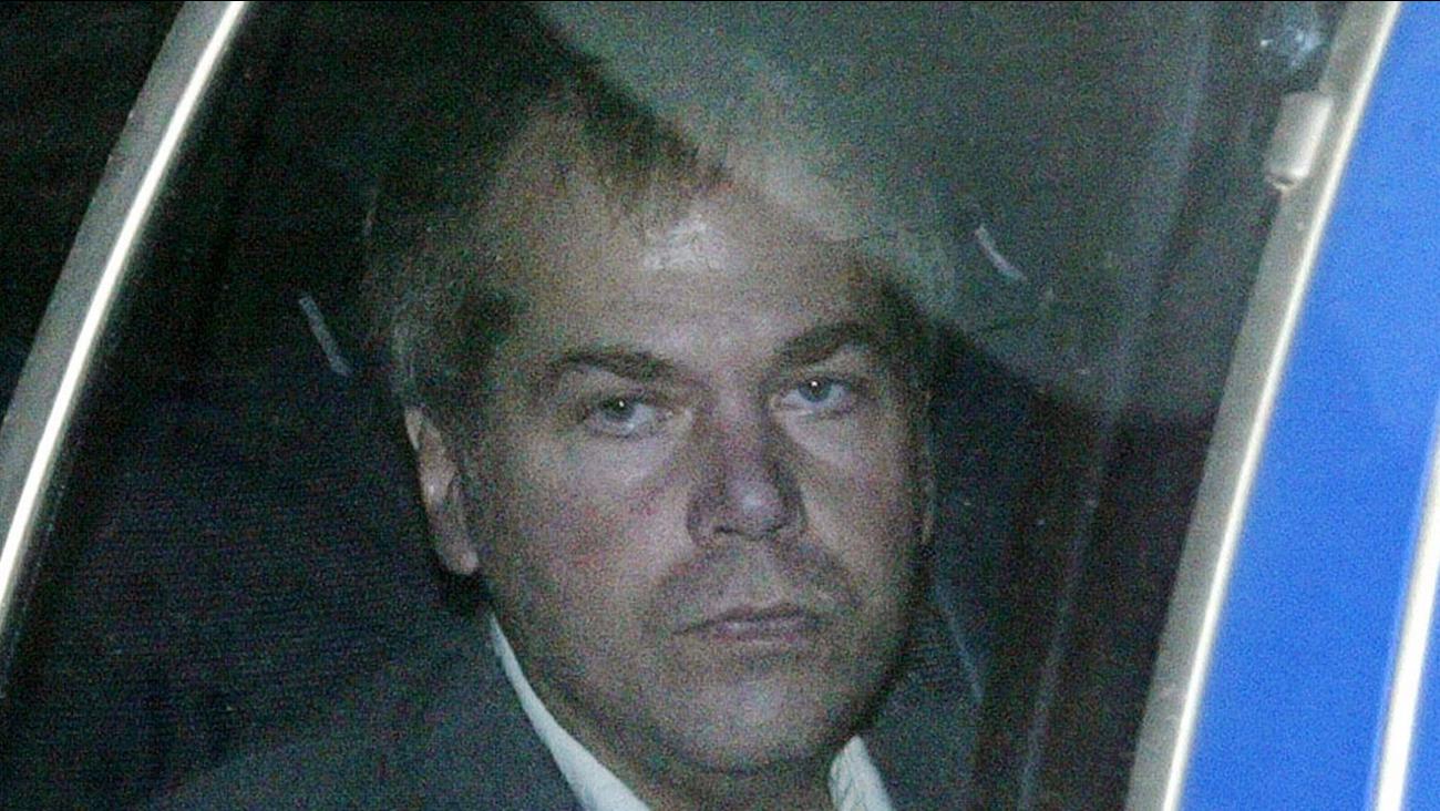 FILE-In this Nov. 18, 2003 file photo, John Hinckley Jr. arrives at U.S. District Court in Washington.