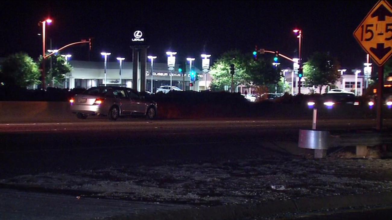 Fatal accident on I-880 near Coliseum Way, Oakland, California, Thursday, July  28, 2016.