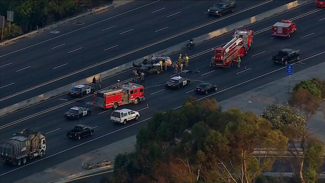 405 Freeway crash: Northbound lanes reopen in Torrance | abc7 com
