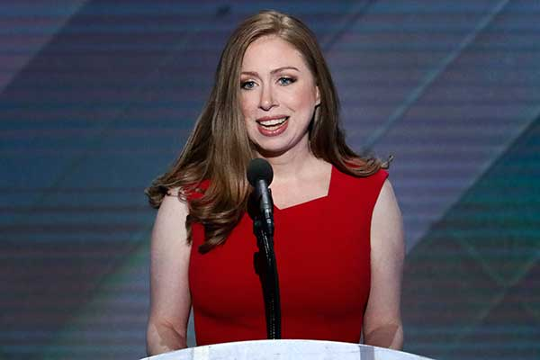 <div class='meta'><div class='origin-logo' data-origin='AP'></div><span class='caption-text' data-credit='J. Scott Applewhite/AP Photo'>Chelsea Clinton, daughter of Democratic presidential nominee Hillary Clinton speaks during the final day of the Democratic National Convention in Philadelphia.</span></div>