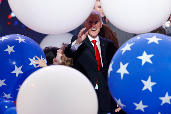 "<div class=""meta image-caption""><div class=""origin-logo origin-image ap""><span>AP</span></div><span class=""caption-text"">Fformer President Bill Clinton reacts as balloons fall during the final day of the Democratic National Convention, Thursday, July 28, 2016, in Philadelphia. (AP Photo/John Locher)</span></div>"