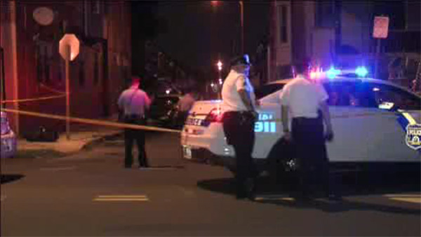 Man shot in the back in West Philadelphia