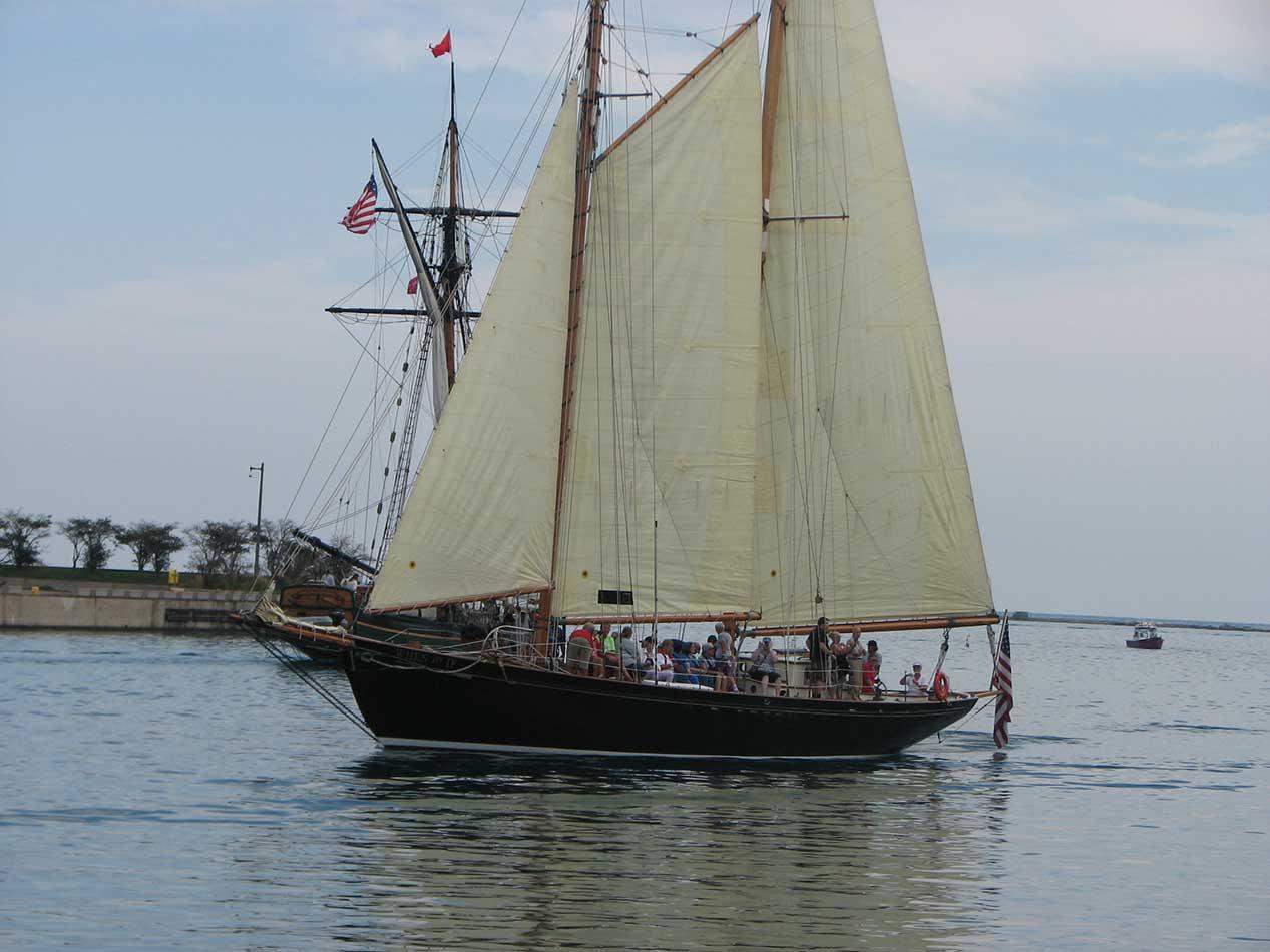 Photos Tall Ships Festival At Chicago S Navy Pier