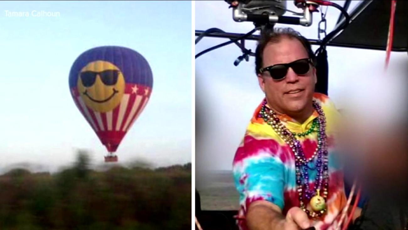 Austin balloon crash