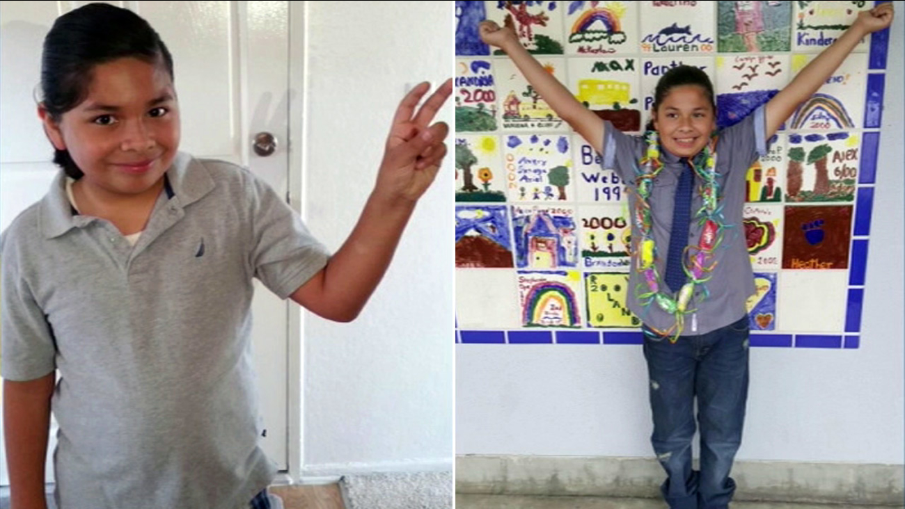 Diego Garcia, an 11-year-old boy with autism, was reported missing in Costa Mesa on Monday, Aug. 1, 2016.