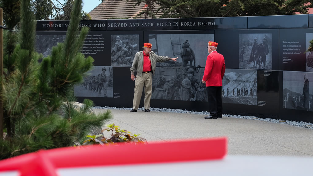 "<div class=""meta image-caption""><div class=""origin-logo origin-image none""><span>none</span></div><span class=""caption-text"">The Korean War Memorial was unveiled in San Francisco's Presidio National Cemetery on Monday, August 1, 2016. (Wayne Freedman/KGO-TV)</span></div>"