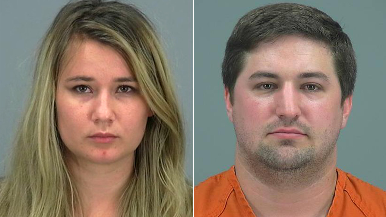 Brianne Daley (left) and Brent Daley (right) were arrested after authorities said the couple abandoned their toddler to go play 'Pokemon Go' in San Tan Valley, Ariz.