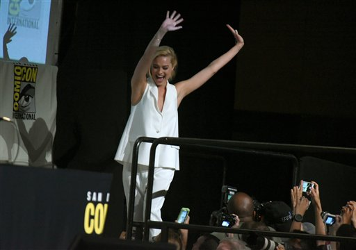 "<div class=""meta image-caption""><div class=""origin-logo origin-image none""><span>none</span></div><span class=""caption-text"">Margot Robbie walks onstage at the ""Suicide Squad"" panel on day 3 of Comic-Con International on Saturday, July 11, 2015, in San Diego. (Photo by Richard Shotwell/Invision/AP) (Richard Shotwell/Invision/AP)</span></div>"