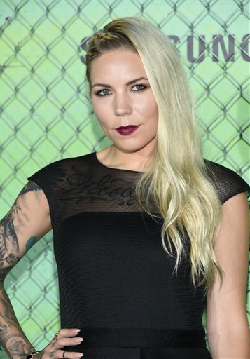 "<div class=""meta image-caption""><div class=""origin-logo origin-image none""><span>none</span></div><span class=""caption-text"">Singer Skylar Grey attends the world premiere of ""Suicide Squad"" at the Beacon Theatre on Monday, Aug. 1, 2016, in New York. (Photo by Evan Agostini/Invision/AP) (Evan Agostini/Invision/AP)</span></div>"