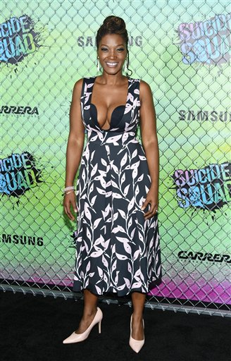 "<div class=""meta image-caption""><div class=""origin-logo origin-image none""><span>none</span></div><span class=""caption-text"">Yolonda Ross attends the world premiere of ""Suicide Squad"" at the Beacon Theatre on Monday, Aug. 1, 2016, in New York. (Photo by Evan Agostini/Invision/AP) (Evan Agostini/Invision/AP)</span></div>"
