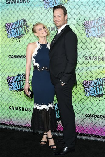 "<div class=""meta image-caption""><div class=""origin-logo origin-image none""><span>none</span></div><span class=""caption-text"">Leven Rambin, left, and Jim Parrack arrive at the world premiere of ""Suicide Squad"" at the Beacon Theatre on Monday, Aug. 1, 2016, in New York. (Photo by Evan Agostini/Invision/AP) (Evan Agostini/Invision/AP)</span></div>"