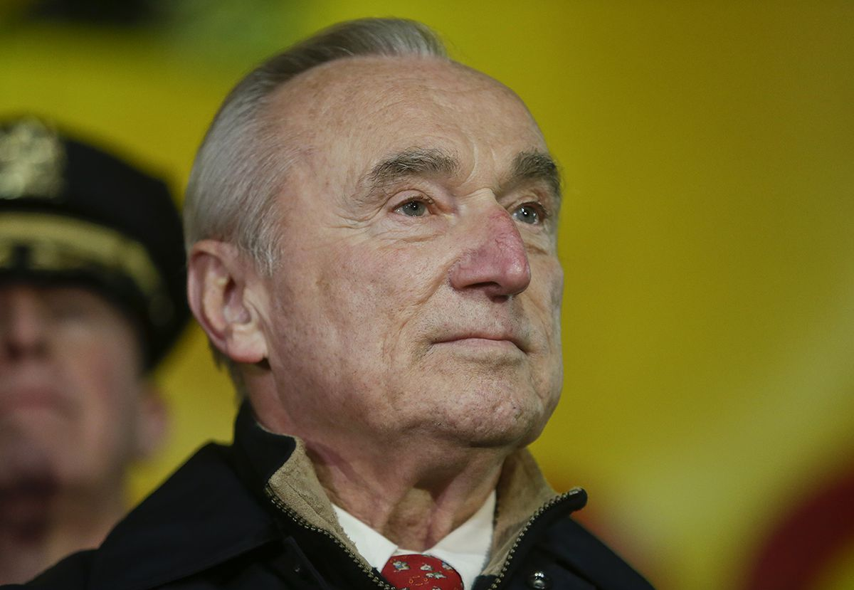 "<div class=""meta image-caption""><div class=""origin-logo origin-image ap""><span>AP</span></div><span class=""caption-text"">New York City Police Commissioner William Bratton listens during a news conference as preparations for the Macy's Thanksgiving Day Parade continue Wednesday, Nov. 25, 2015. (AP Photo/Frank Franklin II)</span></div>"