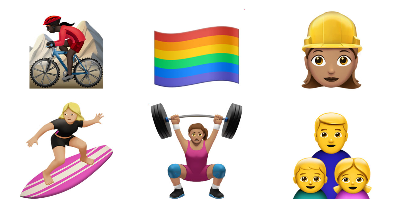 Apple announced plans to release more than 100 new emojis with its next iPhone software update.