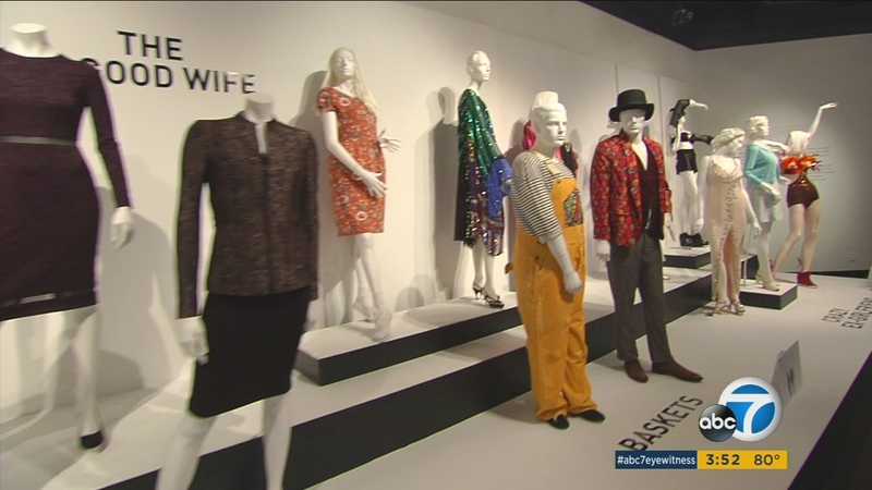 TV show costumes on display in free downtown exhibit