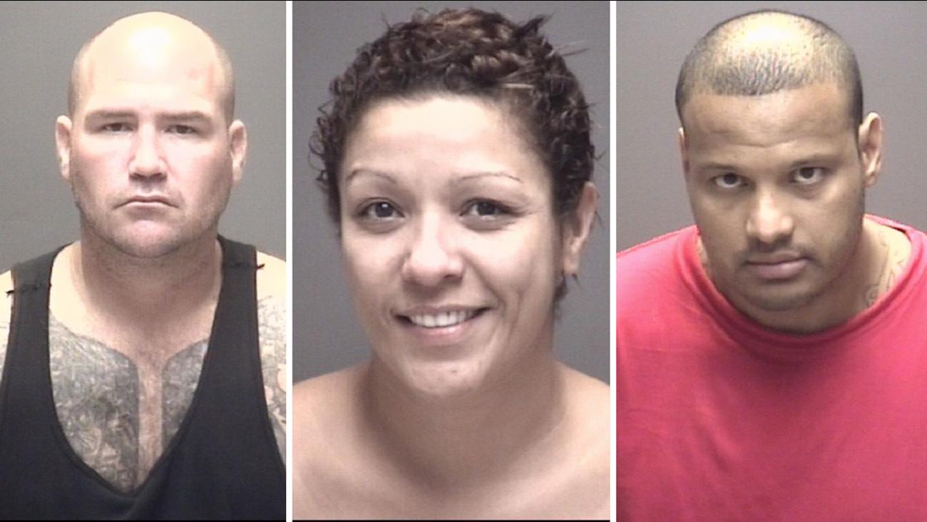 Galveston County meth arrests