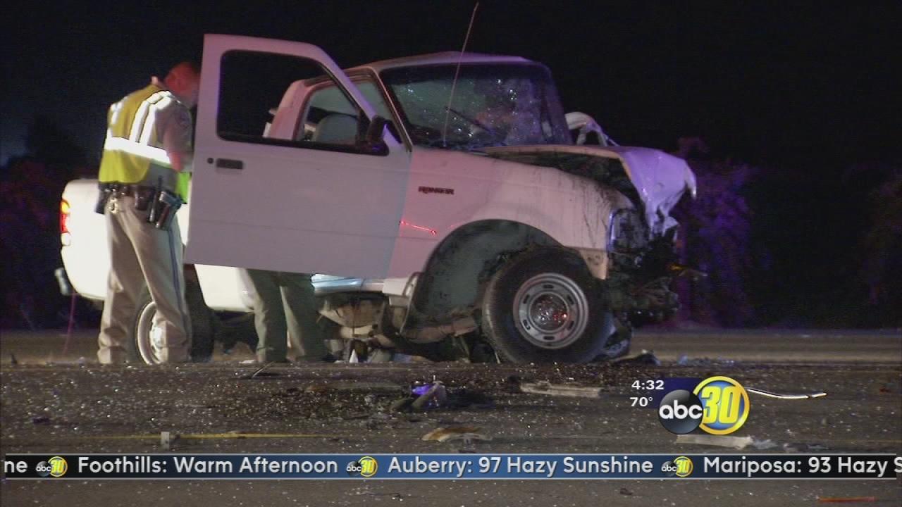 2 killed in Fresno County wrong way driver crash, CHP says