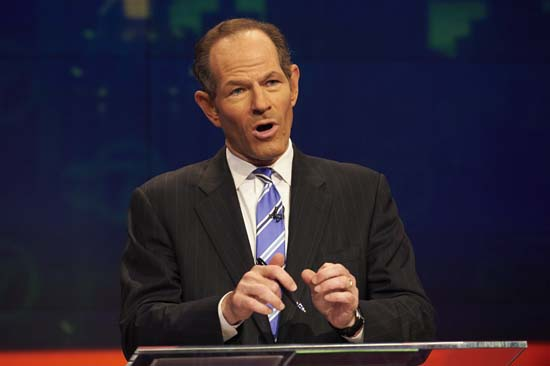 <div class='meta'><div class='origin-logo' data-origin='AP'></div><span class='caption-text' data-credit='AP Photo/New York Daily News, James Keivom'>New York Gov. Eliot Spitzer was embroiled in a prostitution scandal that derailed his political aspirations</span></div>
