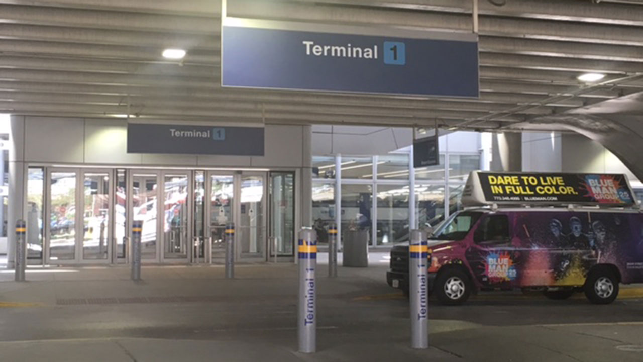 Child, 4, struck by van at O'Hare