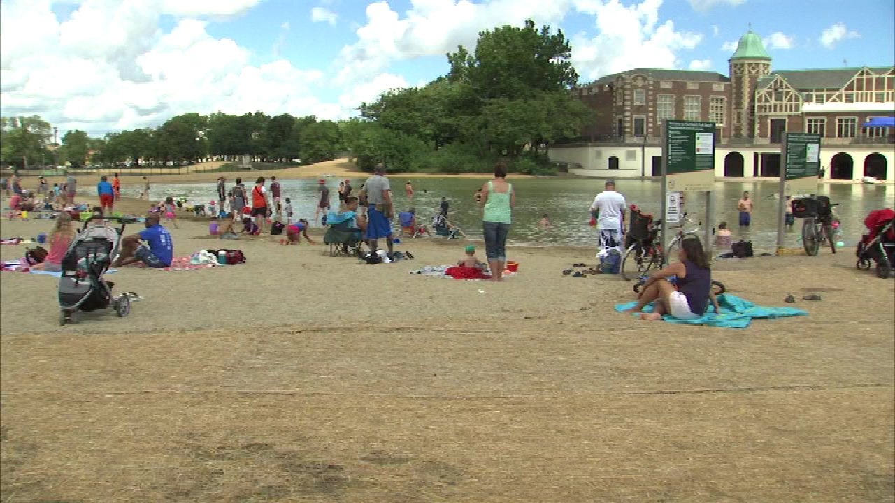 Humboldt Park Beach in Chicago