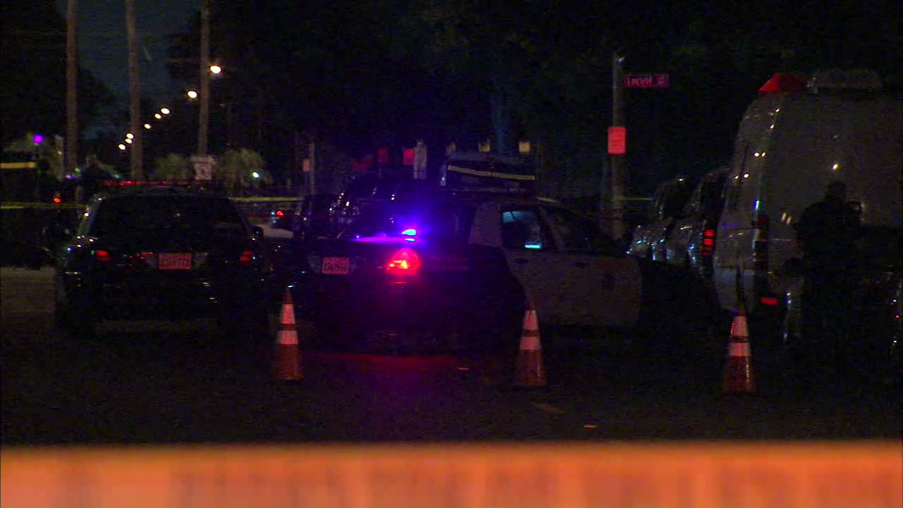 Long Beach police are investigating a shooting that left a woman dead and a young girl injured on Saturday, Aug. 6, 2016.