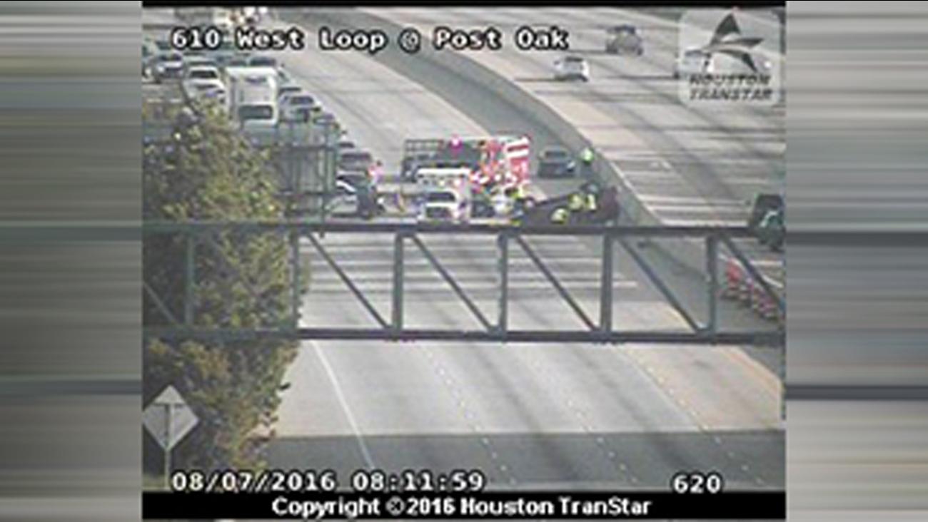 West Loop accident