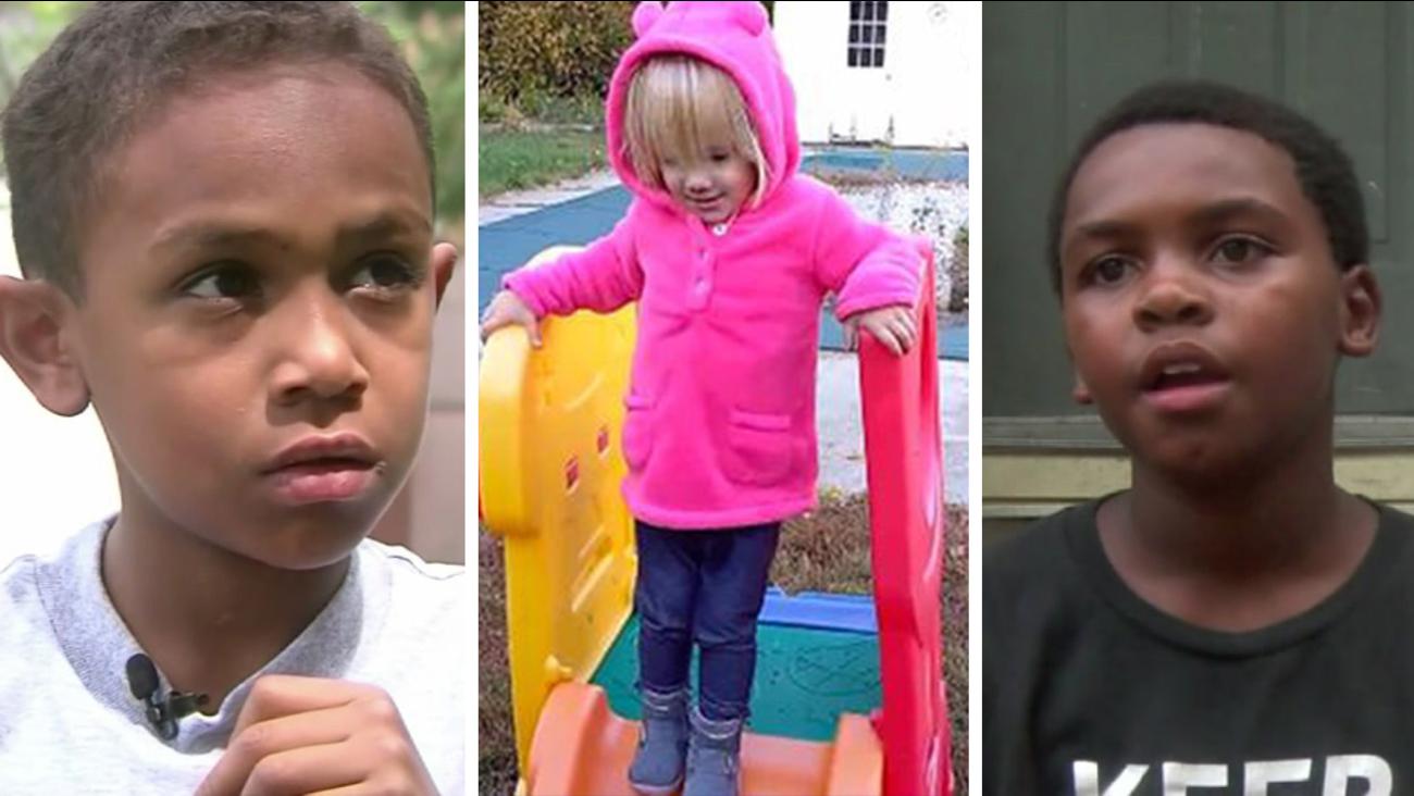 Kids who give us hope