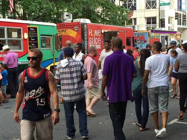Photos Food Truck Rodeo In Downtown Raleigh Abc11 Com