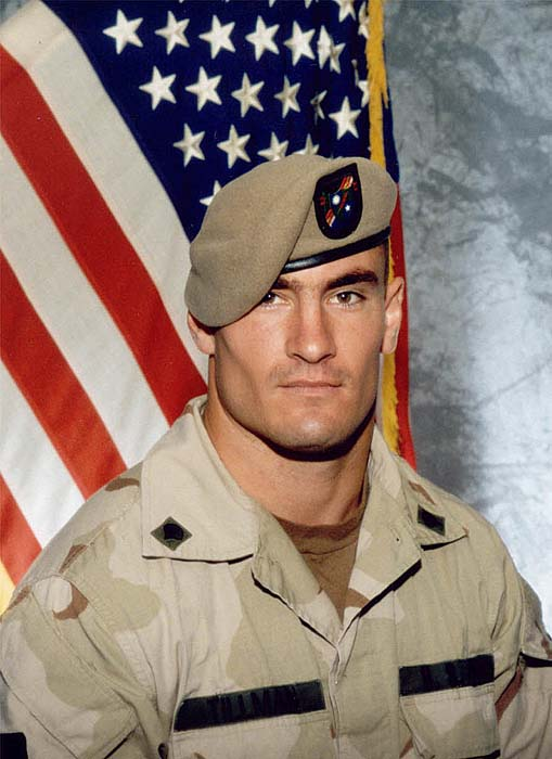 <div class='meta'><div class='origin-logo' data-origin='AP'></div><span class='caption-text' data-credit='AP Photo/Photography Plus via Williamson Stealth Media Solutions'>Cpl. Pat Tillman died via friendly fire in Afghanistan on April 22, 2004.</span></div>