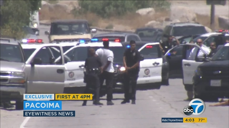 Man fatally shot in Pacoima after argument