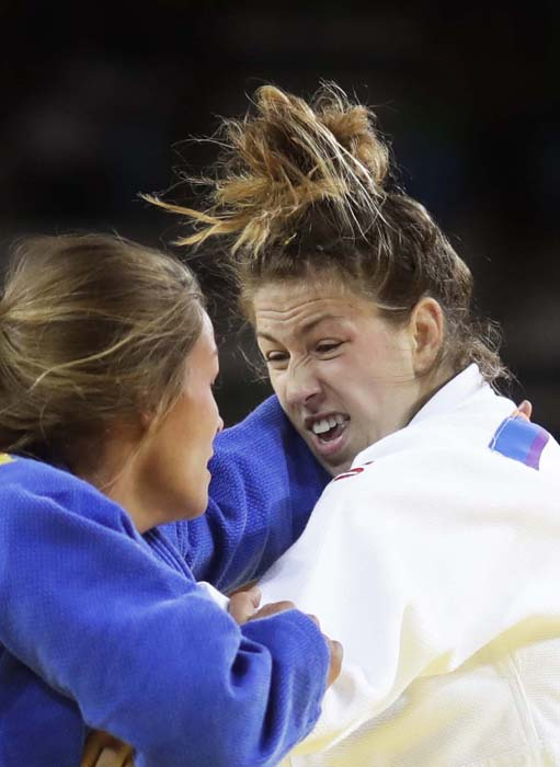 "<div class=""meta image-caption""><div class=""origin-logo origin-image ap""><span>AP</span></div><span class=""caption-text"">Canada's Catherine Beauchemin-Pinard competes in judo competition (AP Photo/Markus Schreiber)</span></div>"