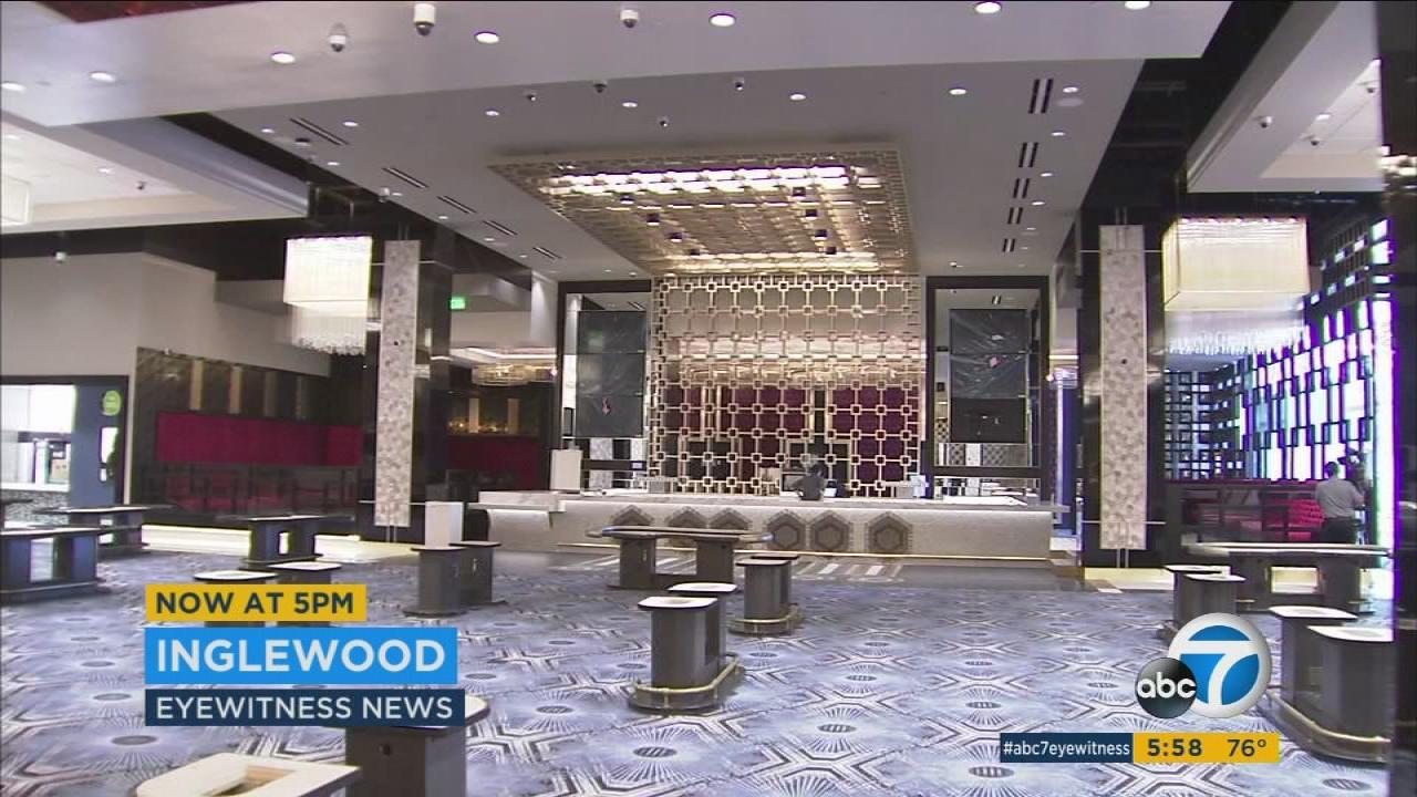 hollywood park hotel casino