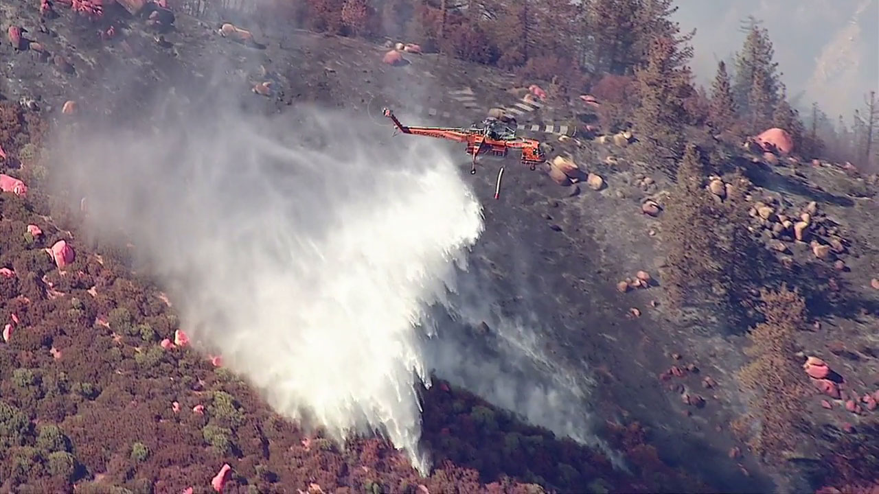 Firefighters are still battling the Pilot Fire, but full containment is expected by Sunday, Aug. 14.